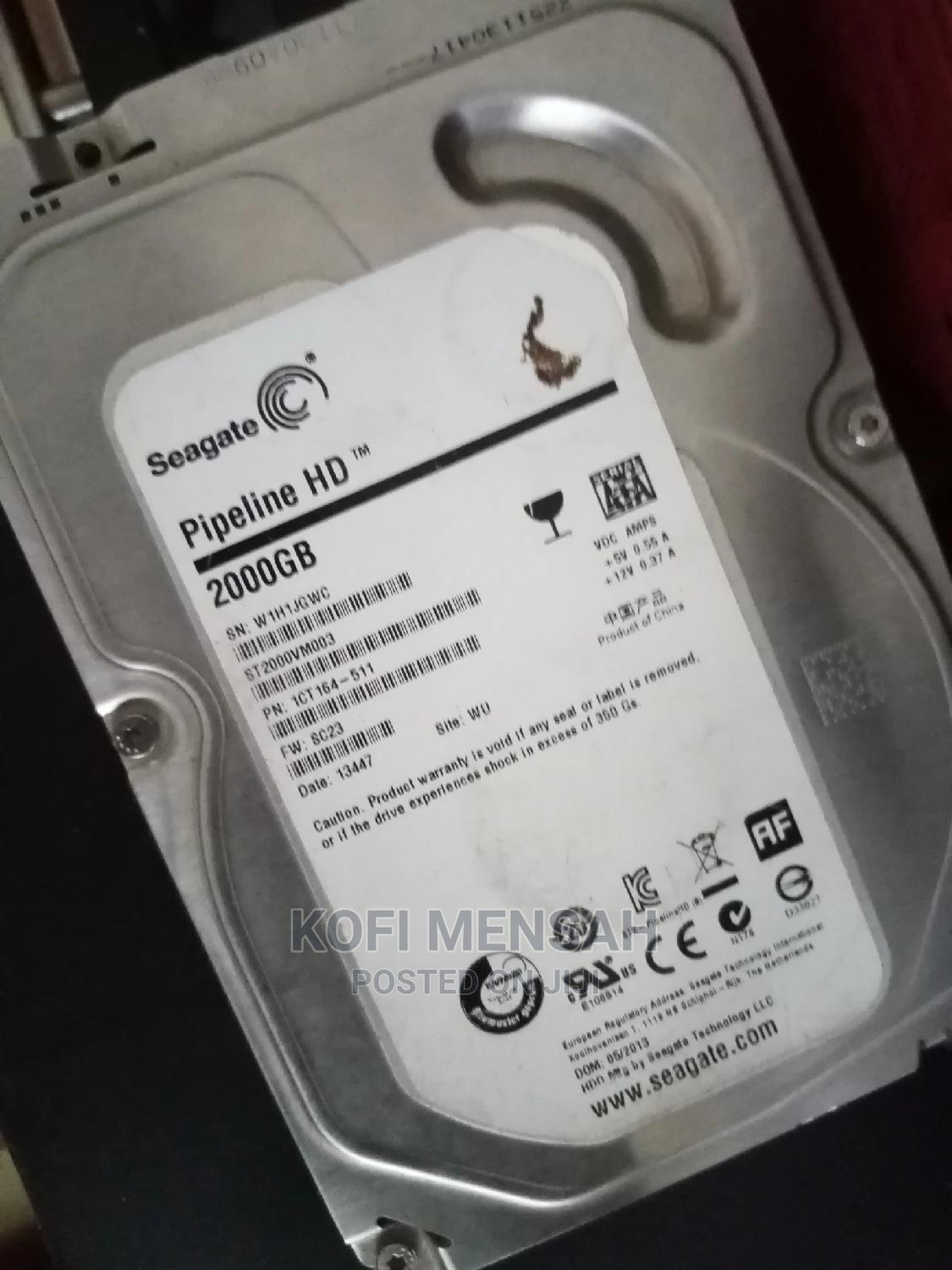 Archive: 2 TB Desktop Hard Drive Loaded With Games