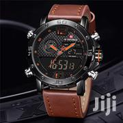 Naviforce 9134 Multifunction Leather Watch | Watches for sale in Greater Accra, Accra Metropolitan