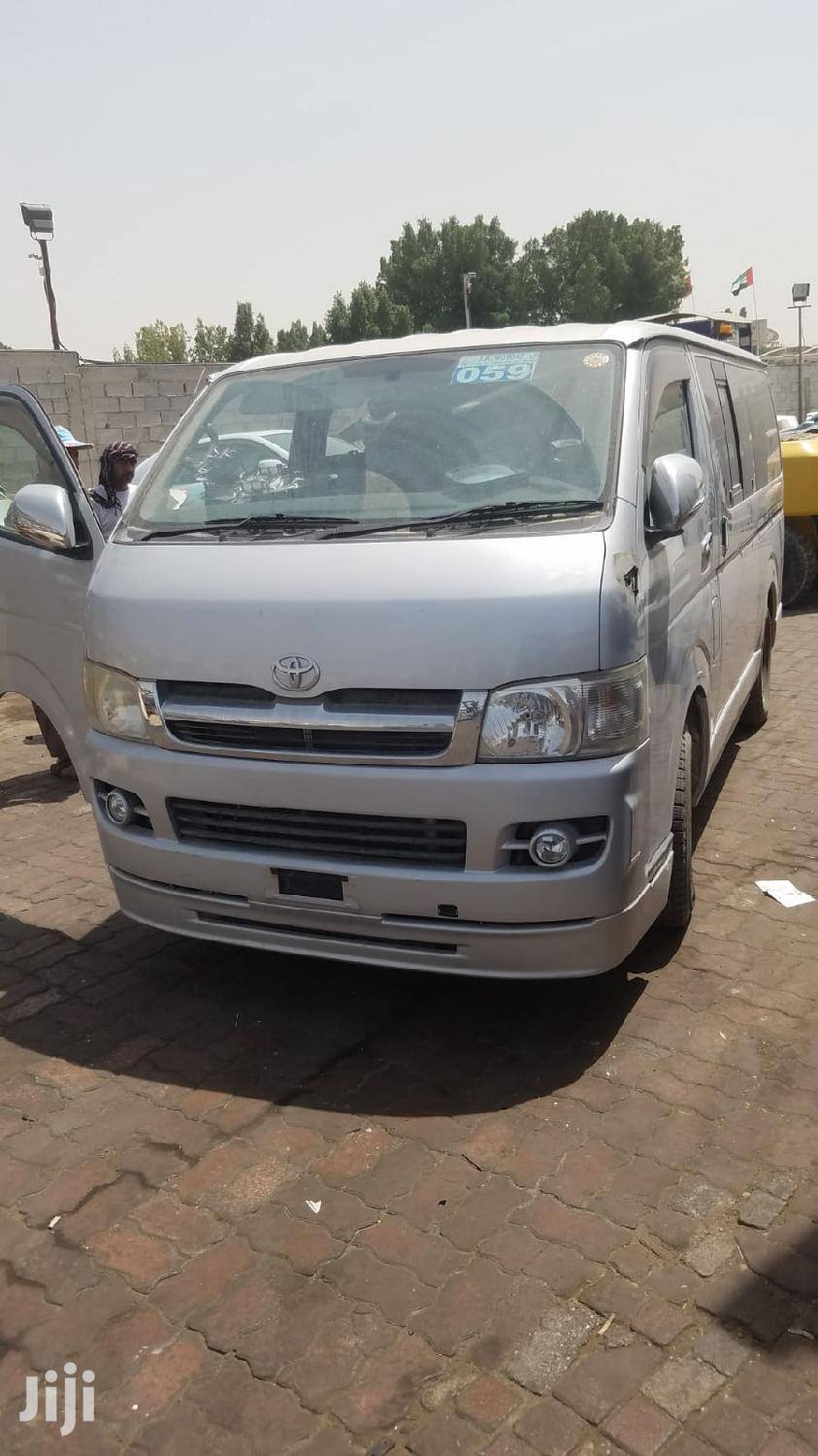 Archive: Toyota Hiace White