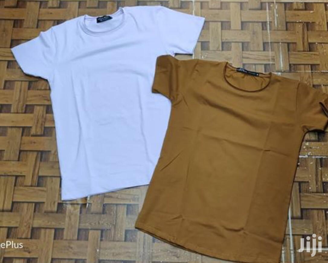 Cotton Plain T Shirt(Wholesale)   Clothing for sale in Achimota, Greater Accra, Ghana