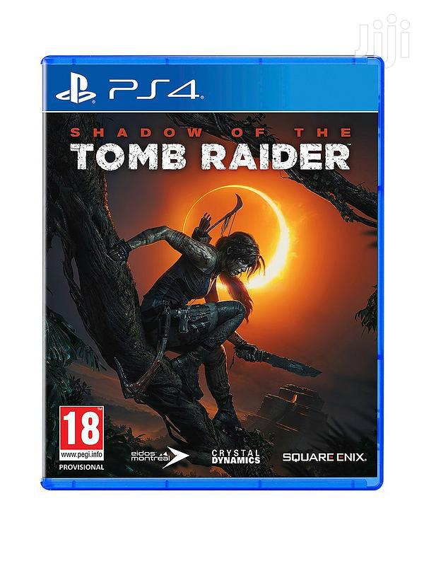 Ps4 Shadow Of The Tomb Raider Digital