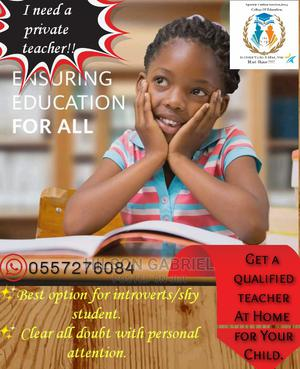 Home Tuition | Child Care & Education Services for sale in Greater Accra, Spintex
