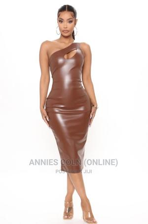 Leather Bodycon Dress | Clothing for sale in Greater Accra, Odorkor