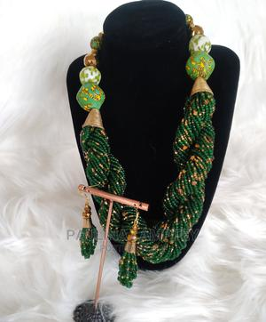 African/Afrocentric Beaded Necklace | Jewelry for sale in Greater Accra, Accra Metropolitan