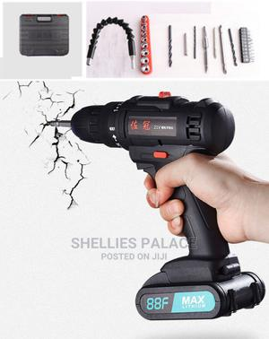 21velectric Drill Screwdriver Combo Kit With 1 X Lithium-ion | Hand Tools for sale in Greater Accra, Dome