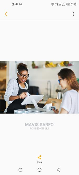 Cashier Needed   Accounting & Finance Jobs for sale in Greater Accra, Accra Metropolitan