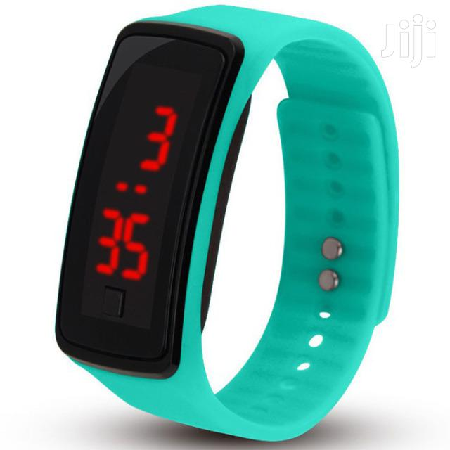 Archive: Silicone LED Sports Watch