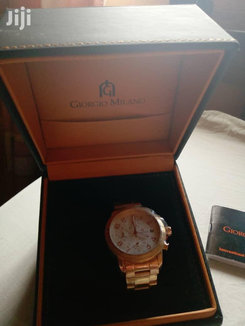 Giorgio Milano Watch