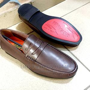 Ferragamo Men's Brown Leather Loafers | Shoes for sale in Greater Accra, Ga West Municipal