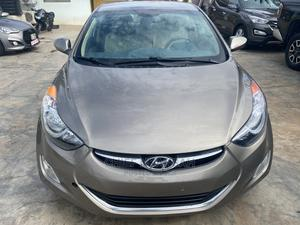 Hyundai Elantra 2013 Gold   Cars for sale in Greater Accra, Haatso