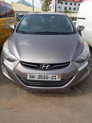 Hyundai Elantra 2013 Gold   Cars for sale in Greater Accra, Achimota
