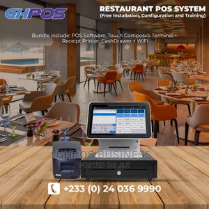 Touchscreen Restaurant POS System (Hardware Software)   Store Equipment for sale in Greater Accra, Accra Metropolitan