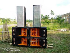Full Range Glx 2500watts and Mid in Nice Box   Audio & Music Equipment for sale in Ashanti, Kumasi Metropolitan