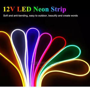5M DC12V Flexible Neon Strip Waterproof Soft Tape Light | Home Accessories for sale in Greater Accra, Ga East Municipal