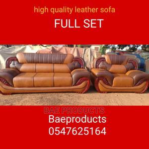 Leather Sofa Fill Set | Furniture for sale in Ashanti, Kumasi Metropolitan