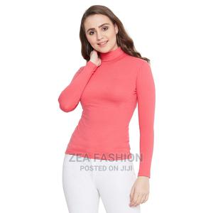 Turtleneck Bodycon Top | Clothing for sale in Greater Accra, Abelemkpe