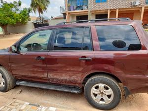 Honda Pilot 2006 LX 4x4 (3.5L 6cyl 5A) Red | Cars for sale in Greater Accra, Sowutwuom
