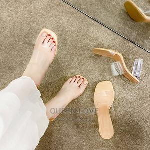 Transparent Slipper Heels   Shoes for sale in Greater Accra, Accra Metropolitan