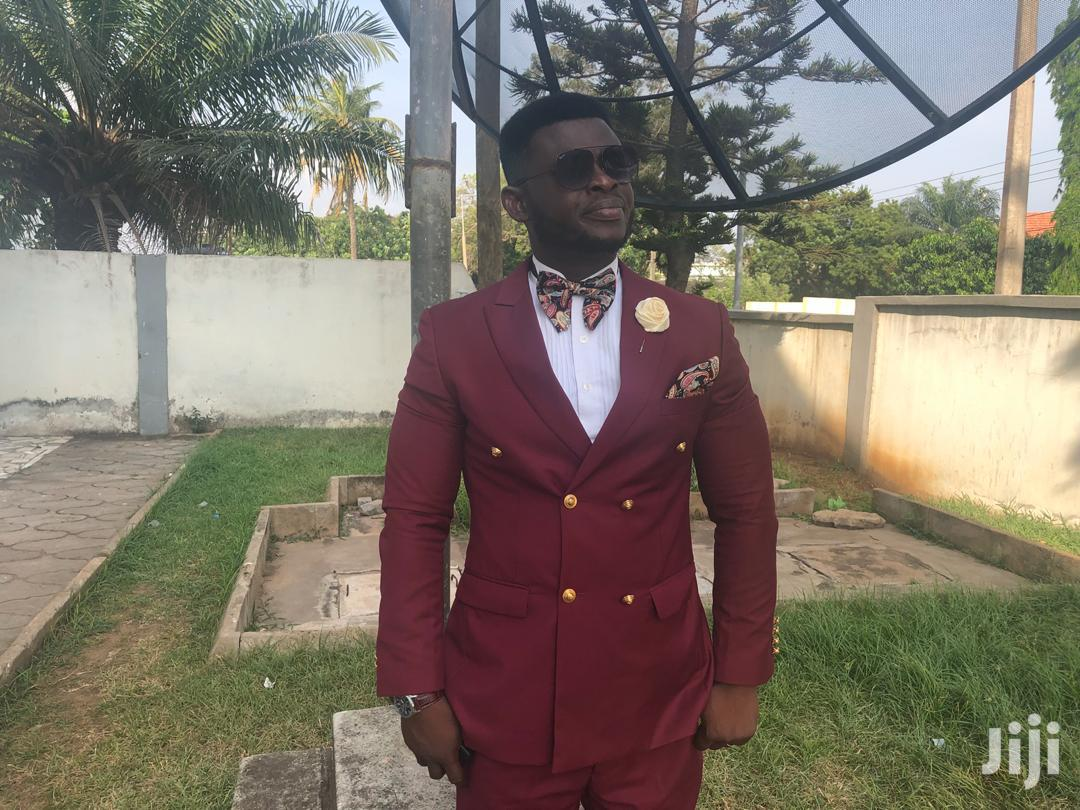 Wine Double Breasted Suit | Clothing for sale in East Legon, Greater Accra, Ghana