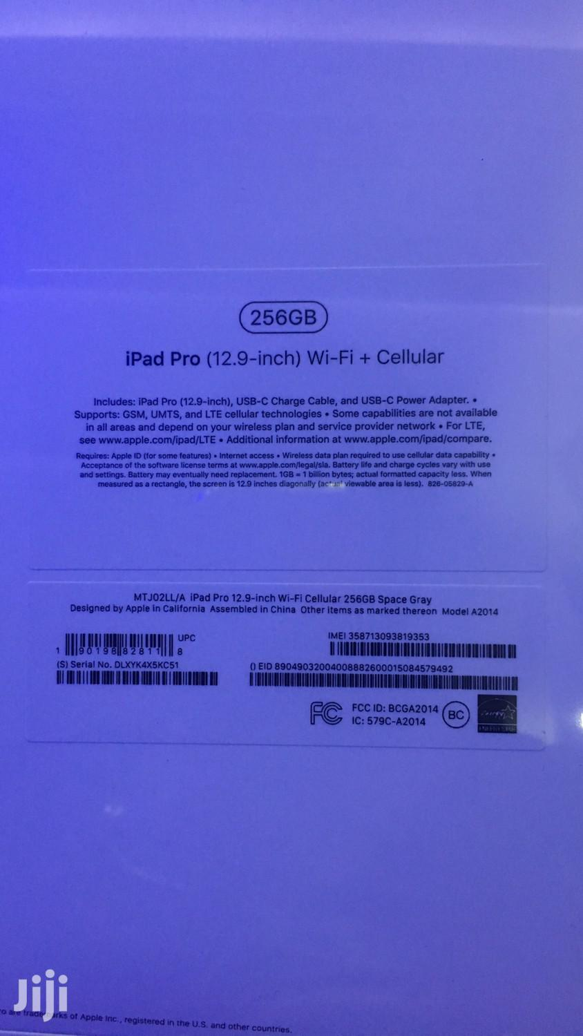 New Apple iPad Pro 12.9 256 GB Black | Tablets for sale in Kokomlemle, Greater Accra, Ghana