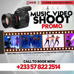 Shoot Music Video | Photography & Video Services for sale in Greater Accra, Accra Metropolitan