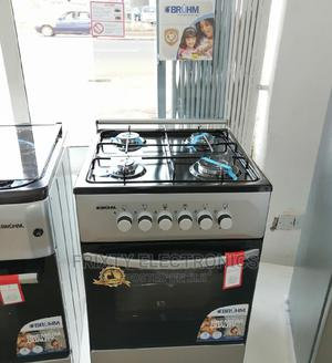 Latest Bruhm Gas Cooker 4 Burner 50x50 Oven+Grill   Kitchen Appliances for sale in Greater Accra, Accra Metropolitan