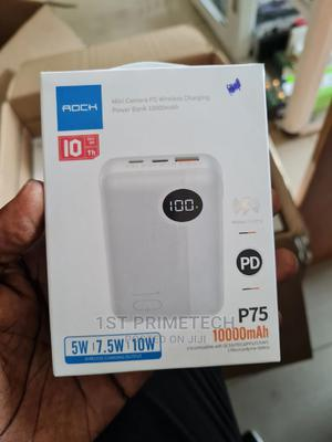 Rock Mini Wireless Power Bank With Type-C Output | Accessories for Mobile Phones & Tablets for sale in Greater Accra, Ga East Municipal