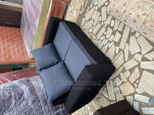 Gray/Black 2in1 Sofa. Free Delivery | Furniture for sale in Greater Accra, Agbogba