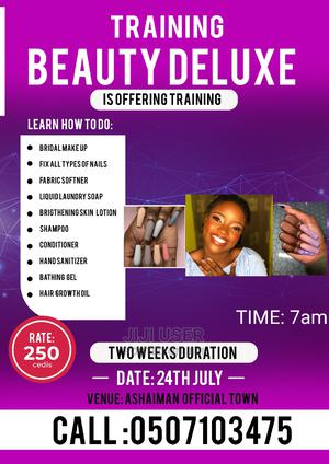 Short Cosmetics Training and Make-Up Training   Health & Beauty Services for sale in Greater Accra, Tema Metropolitan