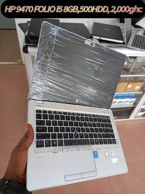 Laptop HP EliteBook Folio 9480M 8GB Intel Core I5 HDD 500GB   Laptops & Computers for sale in Central Region, Awutu Senya East Municipal