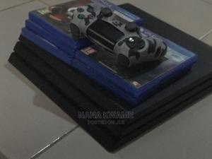 Ps4 Pro With 5 Cds for Sale | Video Game Consoles for sale in Greater Accra, Adenta