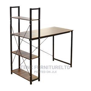 Computer Desk (Walnut)   Furniture for sale in Greater Accra, Achimota