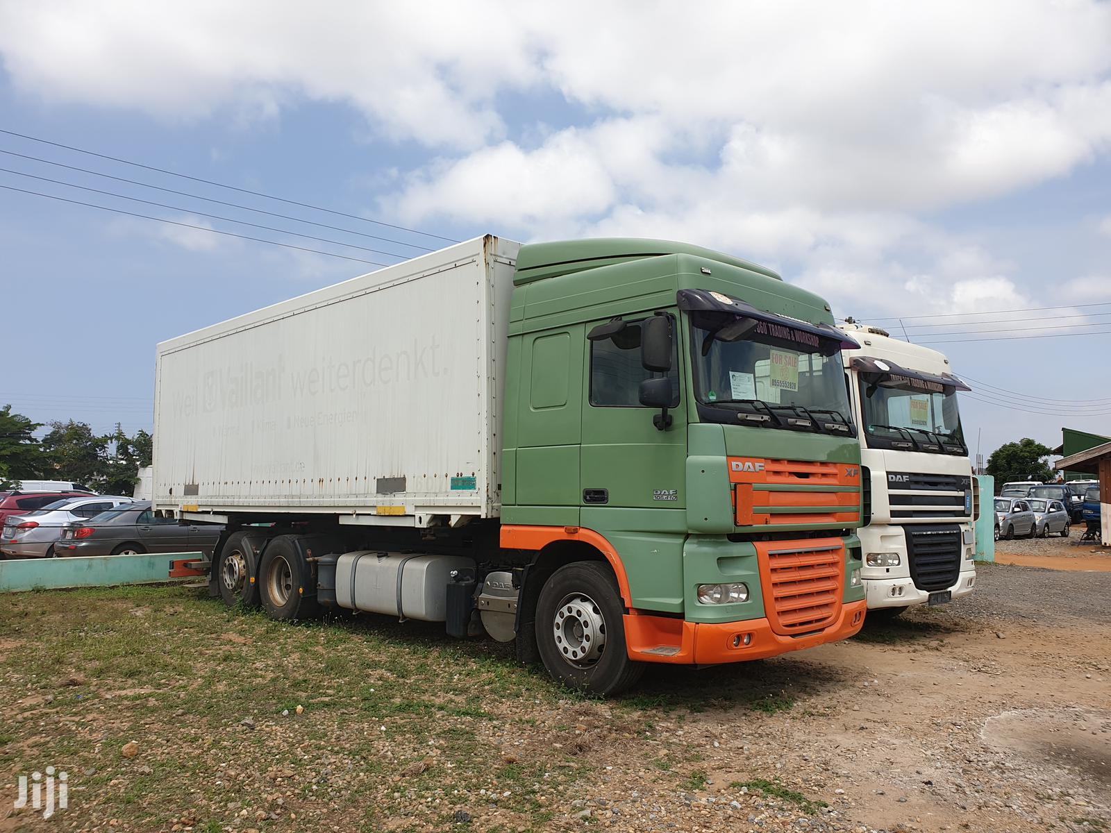 Archive: DAF XF 105.410 Cargo Truck Manual Gearbox