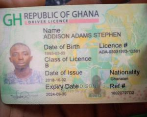 Driver CVB   Driver CVs for sale in Greater Accra, Ashaiman Municipal