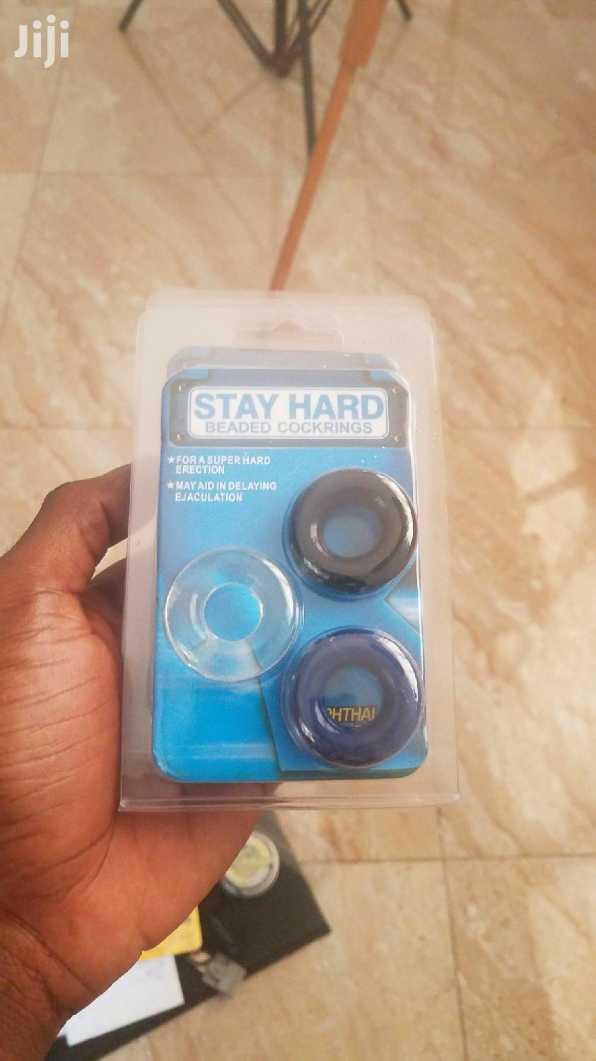 Stay Hard Beaded Cockrings | Sports Equipment for sale in Accra Metropolitan, Greater Accra, Ghana