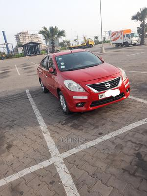 Nissan Almera 2013 Red   Cars for sale in Greater Accra, Lapaz
