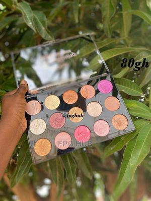 Eyeshadow and Highlight Palette | Makeup for sale in Greater Accra, Accra Metropolitan