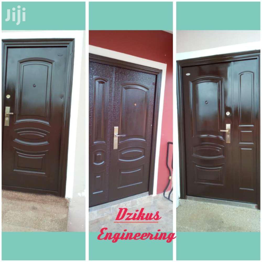 Respray Of Security Doors