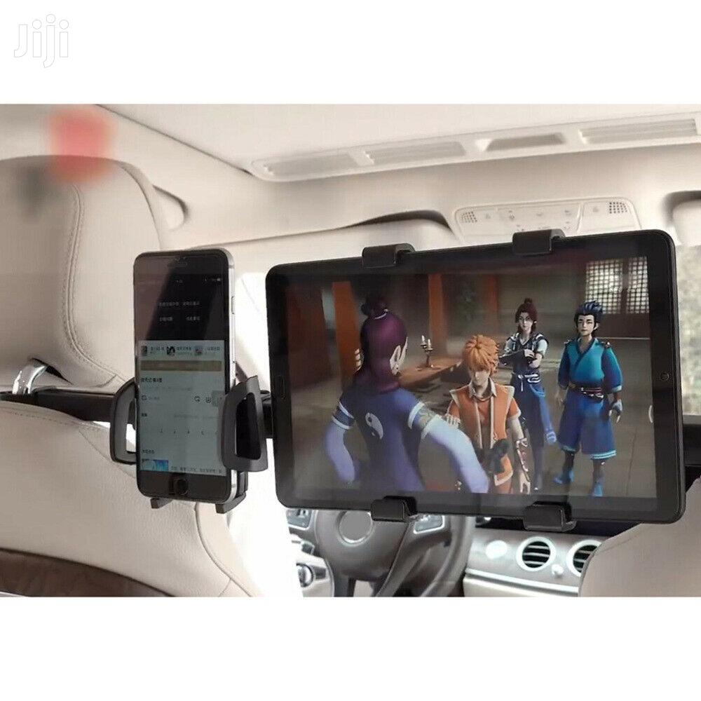 Universal Dual Car Back Seat Headrest Holder Phone N Tablet