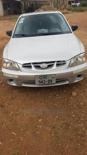 Hyundai Accent 2000 Automatic Silver | Cars for sale in Greater Accra, Awoshie