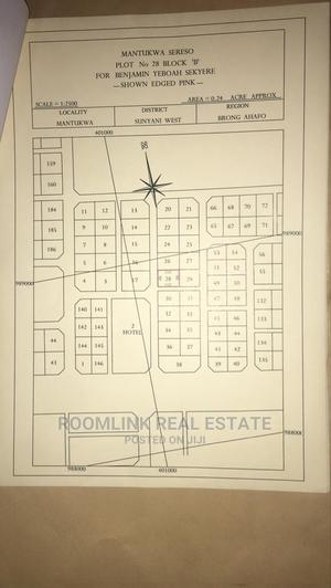 Two Plot Behind Justbro Filling Station, Mantukwa Sunyani | Land & Plots For Sale for sale in Brong Ahafo, Sunyani Municipal
