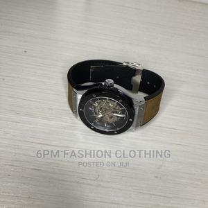 Swiss Made Hublot Engine Leather Watch   Watches for sale in Greater Accra, East Legon