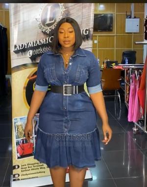 Beautiful Jeans Dress for Sale   Clothing for sale in Ashanti, Kumasi Metropolitan