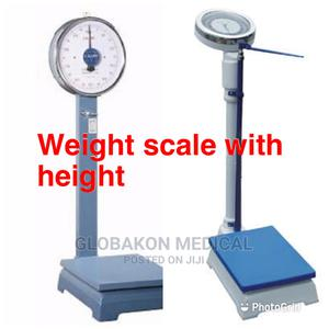 Weight Scale With Height   Medical Supplies & Equipment for sale in Greater Accra, Accra Metropolitan