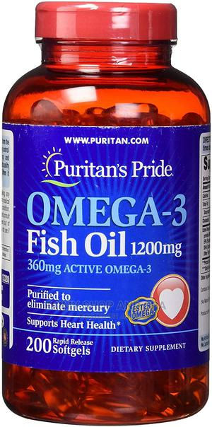 Omega-3 Fish Oil 1200mg, 200mg | Vitamins & Supplements for sale in Greater Accra, Dome