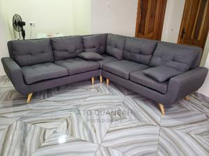 Gray L-Shaped Sofa | Furniture for sale in Greater Accra, Accra Metropolitan