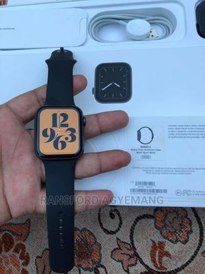 Apple Watch Series 5, 44mm Space Gray Aluminum   Smart Watches & Trackers for sale in Greater Accra, East Legon