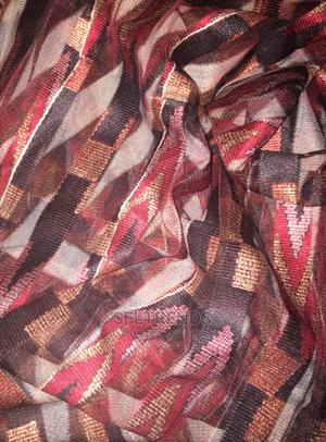 Kente Inspired Tule Mesh Fabric - 4 Yards | Clothing for sale in Greater Accra, Gbawe