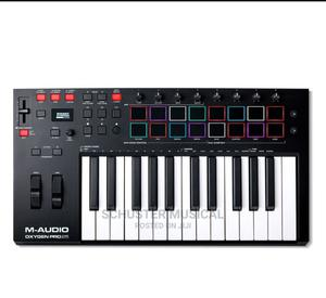 M-Audio Oxygen 25-Key Pro Usb Midi Keyboard With Beat Pad   Musical Instruments & Gear for sale in Greater Accra, Accra Metropolitan