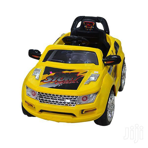 Ride on Car Yellow (Electric Charge)